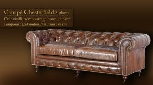 canapé chesterfield cuir 10