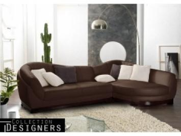 photos canap d 39 angle cuir marron vieilli. Black Bedroom Furniture Sets. Home Design Ideas