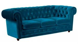 canapé chesterfield velours 9