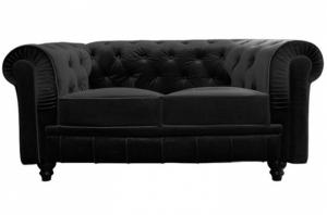 canapé chesterfield velours 13