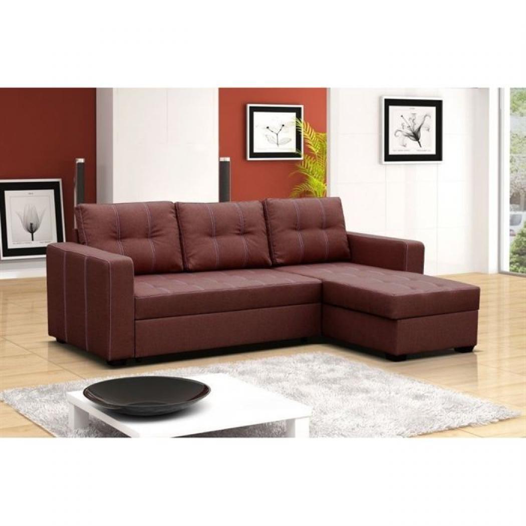 photos canap d 39 angle design tissu rubik gris. Black Bedroom Furniture Sets. Home Design Ideas