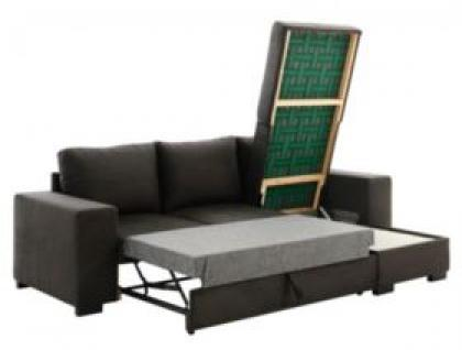 photos canap d 39 angle gris anthracite fly. Black Bedroom Furniture Sets. Home Design Ideas