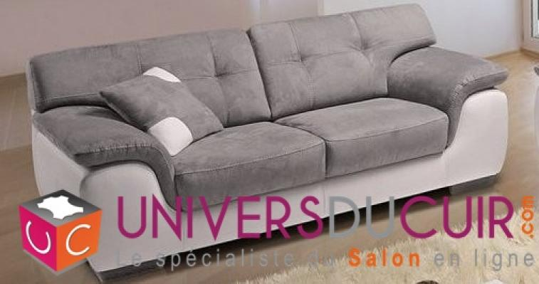 photos canap convertible 2 places cuir center. Black Bedroom Furniture Sets. Home Design Ideas