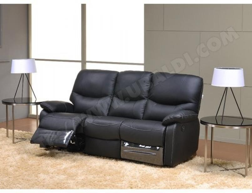 photos canap convertible cuir 3 places pas cher. Black Bedroom Furniture Sets. Home Design Ideas
