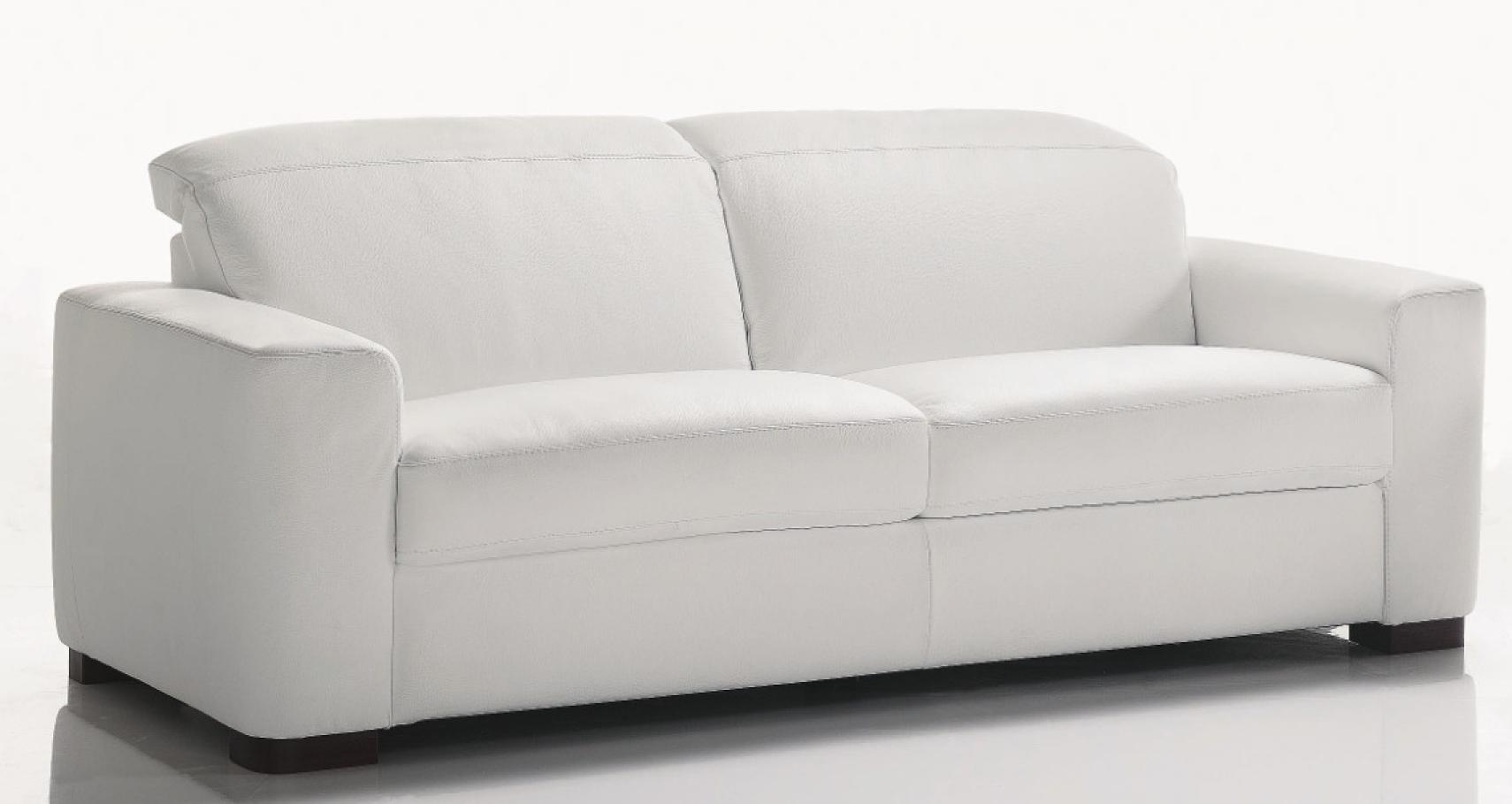 Photos canap convertible cuir blanc 3 places - Canape cuir 10 places ...