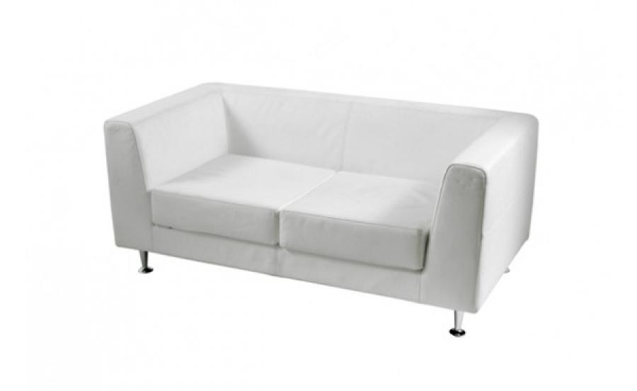 Photos canap convertible cuir blanc 2 places for Canape cuir 2 place