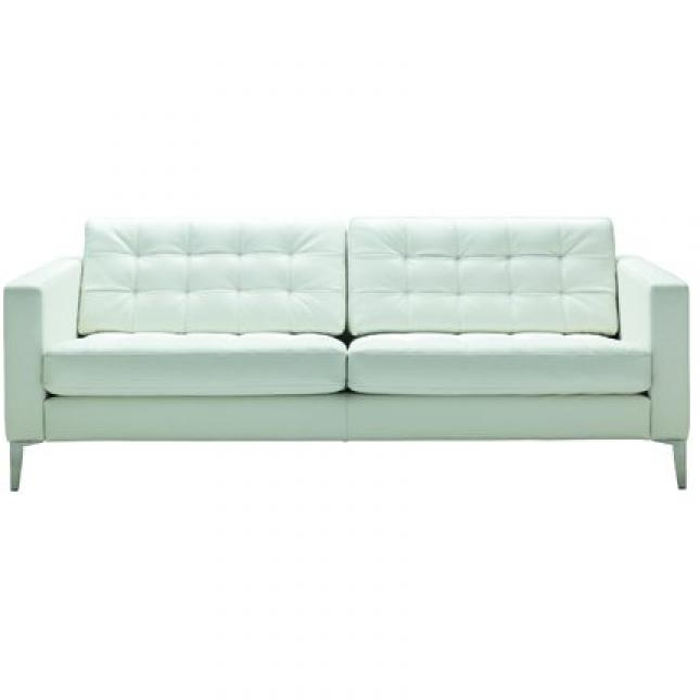 Photos canap convertible cuir blanc ikea for Canape convertible bz ikea