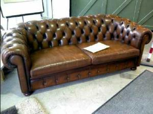 canapé chesterfield occasion 12