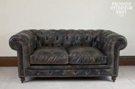 Chesterfield convertible pas cher canap chesterfield cuir for Canape chesterfield cuir pas cher