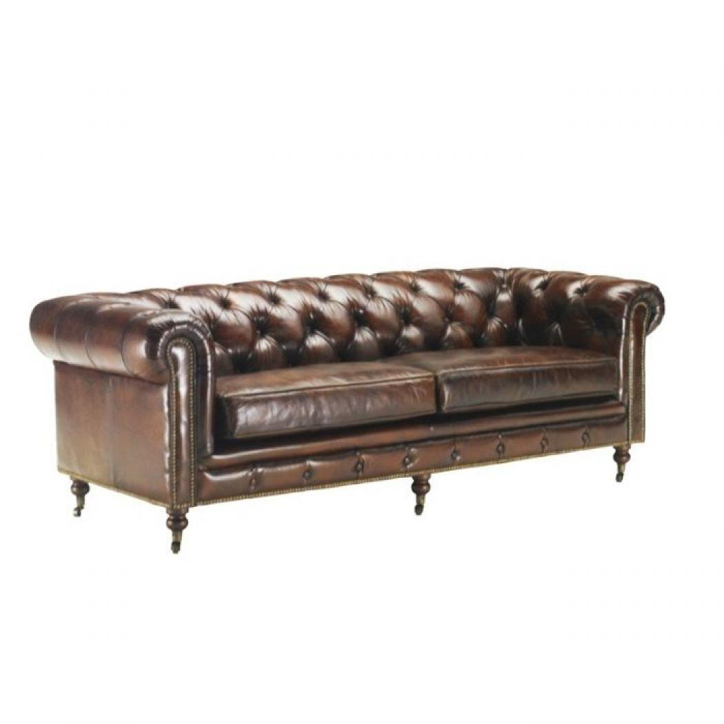 canape chesterfield cuir occasion max min. Black Bedroom Furniture Sets. Home Design Ideas