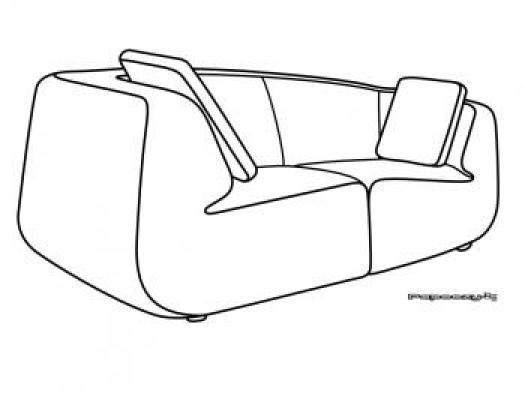 Photos canap dessin - Comment dessiner un canape ...