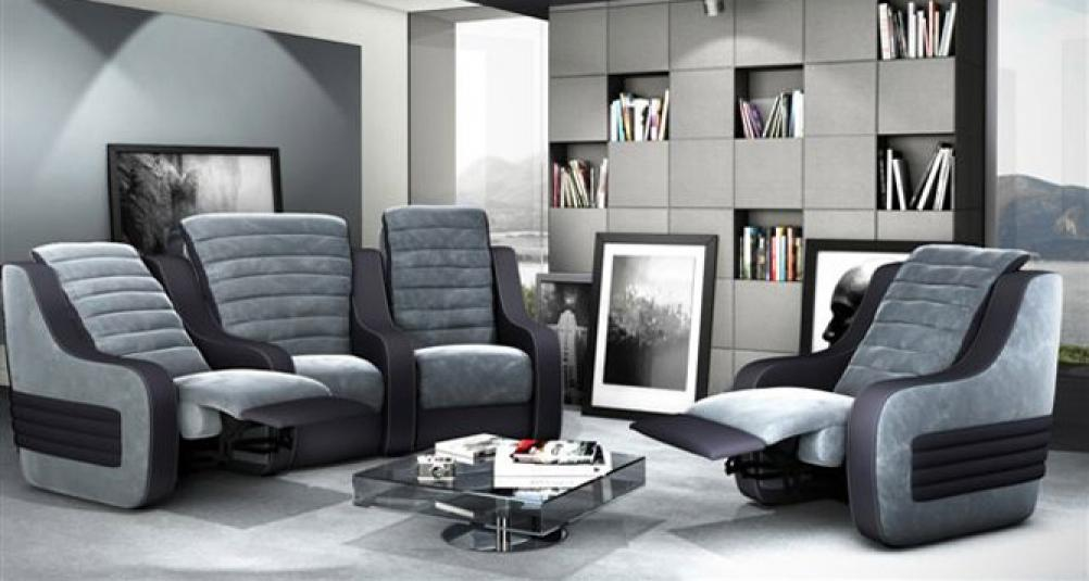 Photos canap g ant for Canape home cinema