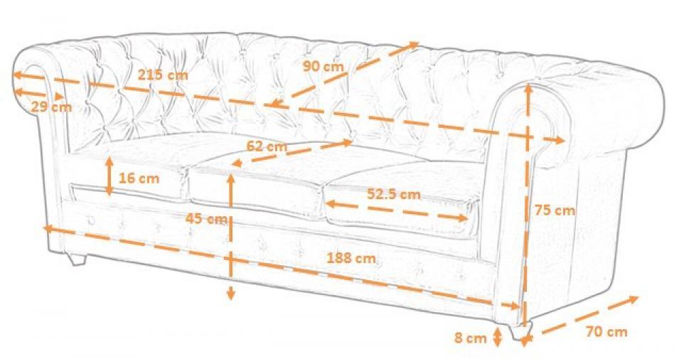 photos canap 3 places dimensions. Black Bedroom Furniture Sets. Home Design Ideas