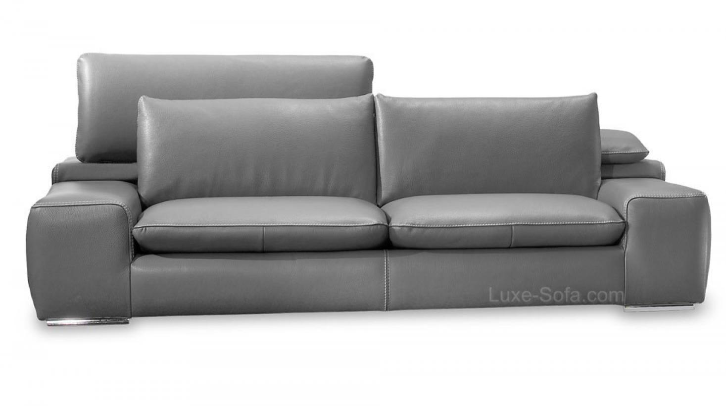 photos canap 3 places gris. Black Bedroom Furniture Sets. Home Design Ideas