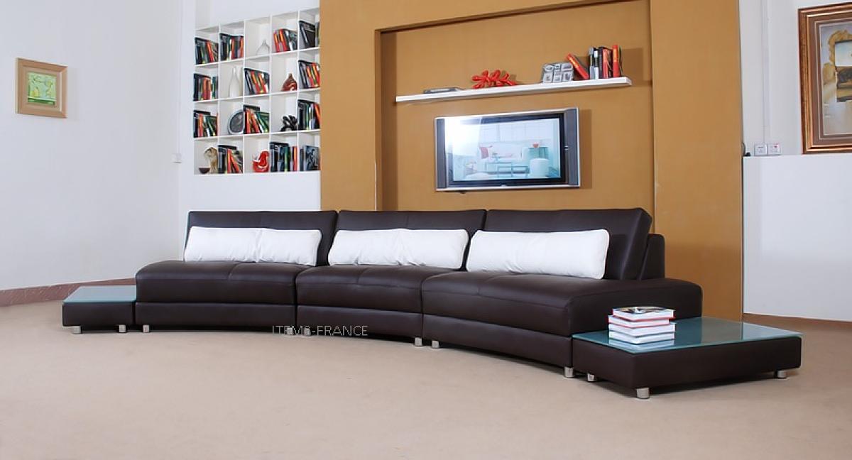 photos canap 4 places droit. Black Bedroom Furniture Sets. Home Design Ideas