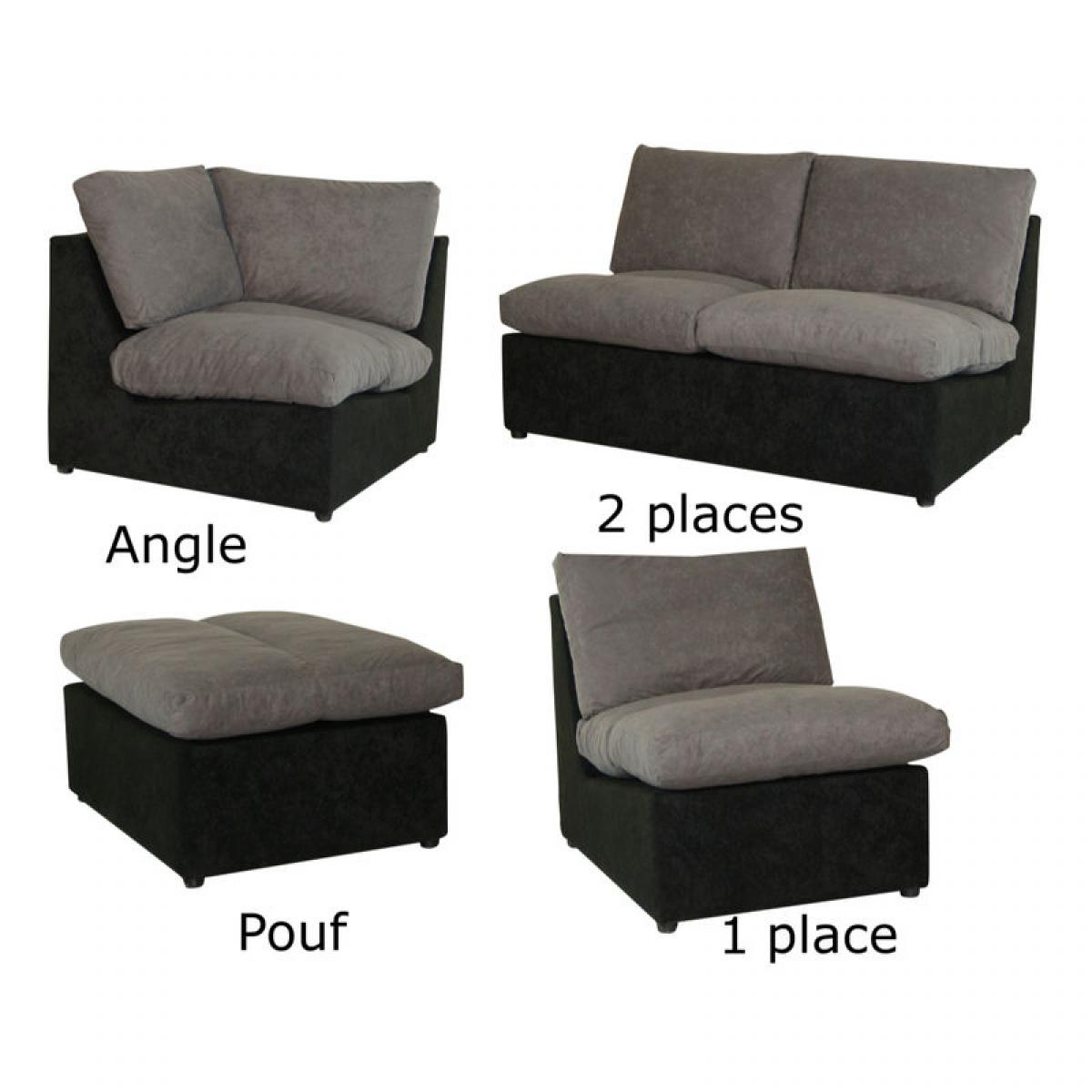 Photos canap modulable conforama - Petit canape d angle convertible 2 places ...