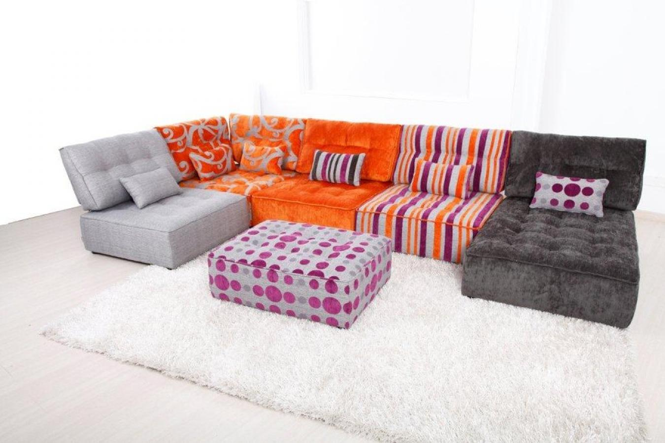 Photos canap modulable - Canape pouf modulable ...
