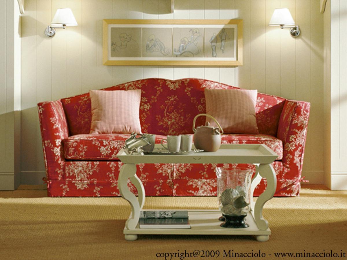 Photos canap anglais tissu fleuri - Salon en anglais ...