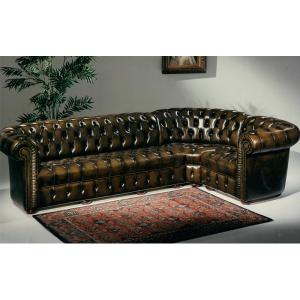 photos canap anglais chesterfield. Black Bedroom Furniture Sets. Home Design Ideas
