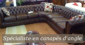 canapé anglais chesterfield occasion