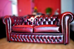canapé anglais chesterfield occasion 6