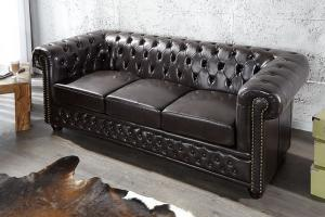 canapé anglais chesterfield occasion 9