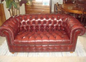 canapé anglais chesterfield occasion 12