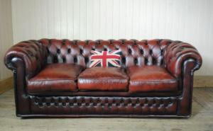 canapé anglais chesterfield occasion 13