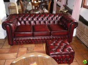 canapé anglais chesterfield occasion 15