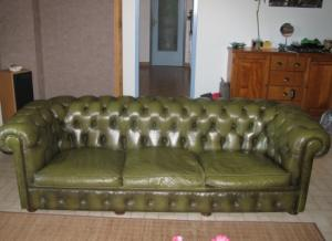 canapé anglais chesterfield occasion 17