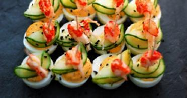 Photos canap ap ro facile for Canape aperitif froid