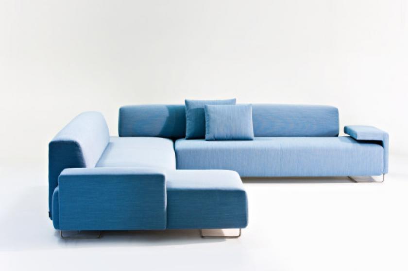 Canap bleu ciel for Canape cuir bleu ciel
