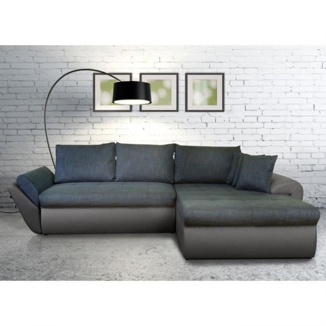 canap bleu gris. Black Bedroom Furniture Sets. Home Design Ideas