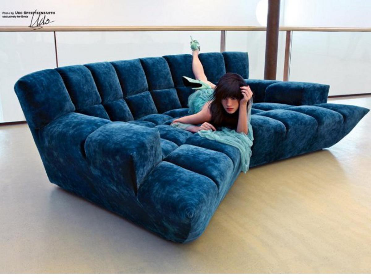 photos canap bretz cloud 7. Black Bedroom Furniture Sets. Home Design Ideas