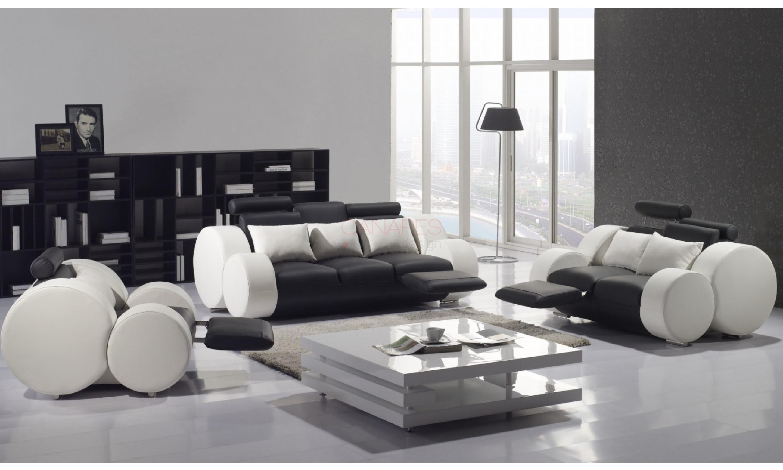 photos canap cuir design. Black Bedroom Furniture Sets. Home Design Ideas