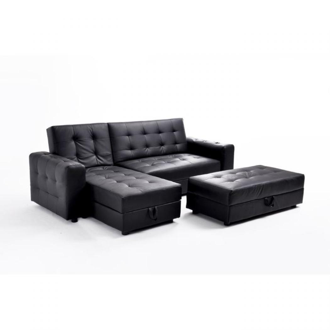 photos canap d 39 angle pas cher simili cuir. Black Bedroom Furniture Sets. Home Design Ideas