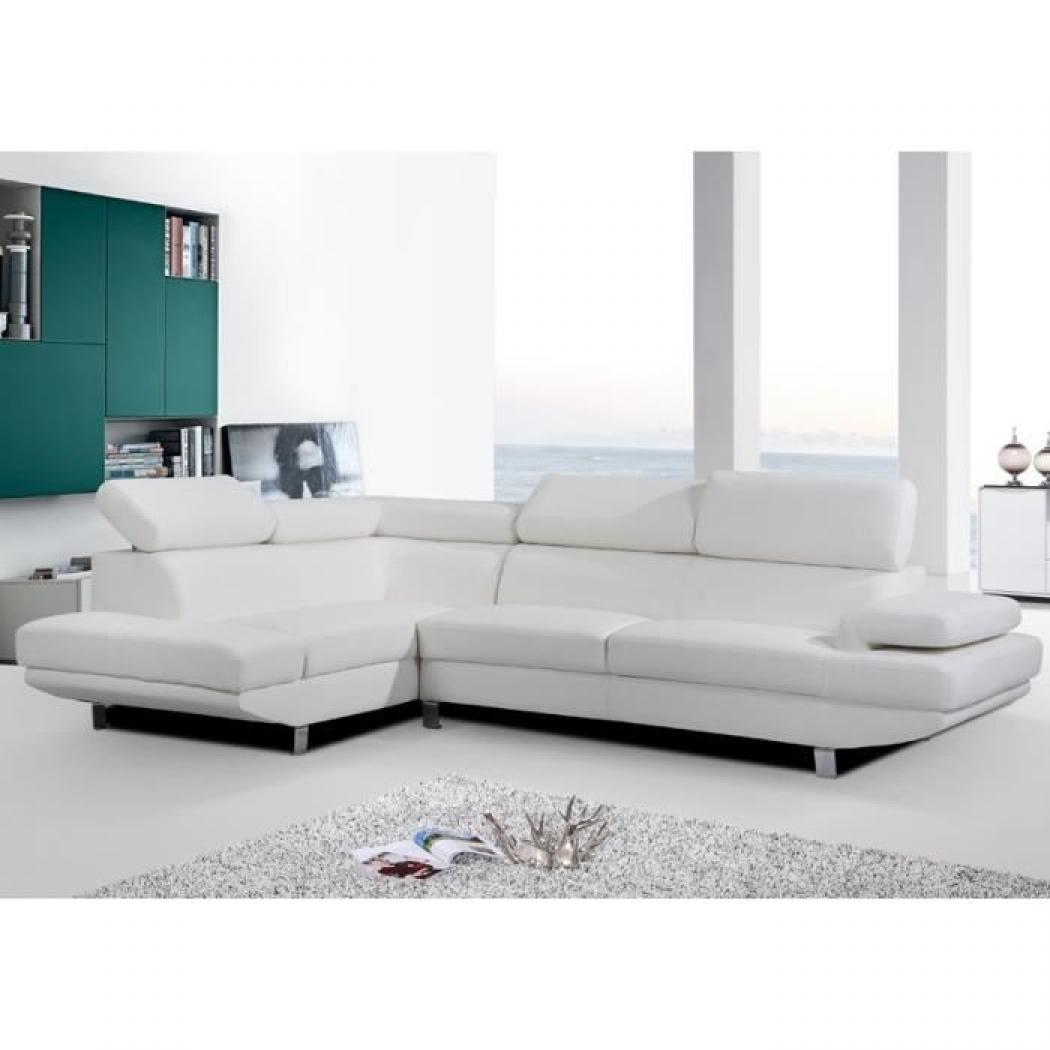 photos canap en u blanc. Black Bedroom Furniture Sets. Home Design Ideas
