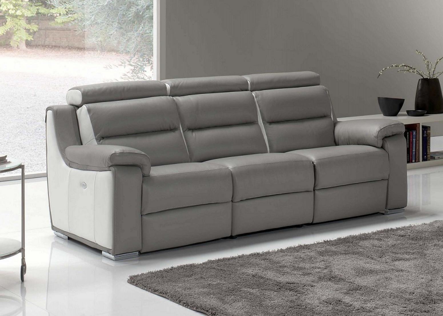 photos canap electrique 3 places. Black Bedroom Furniture Sets. Home Design Ideas