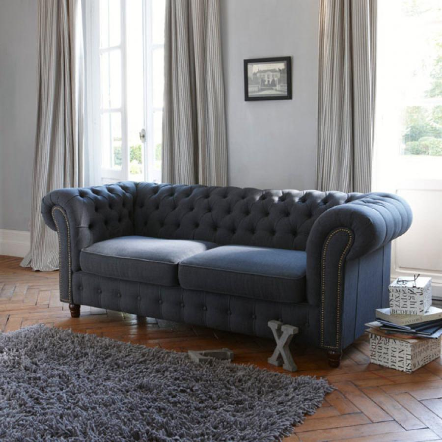 canape chesterfield lin maison design. Black Bedroom Furniture Sets. Home Design Ideas