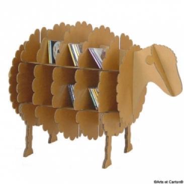 Photos canap en carton fabrication for Construire meuble en carton