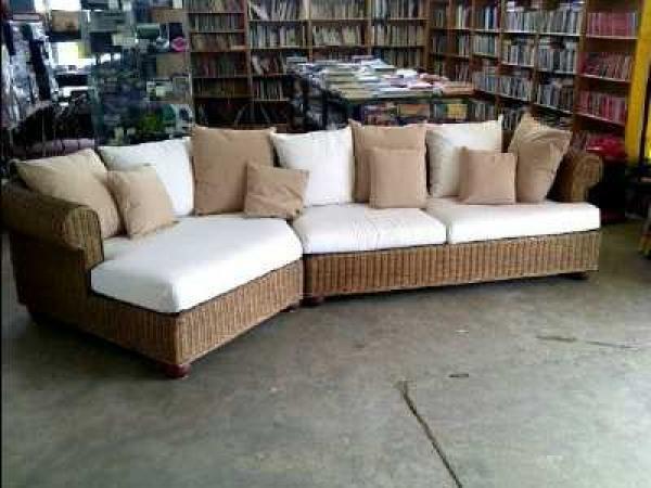 photos canap en rotin pas cher. Black Bedroom Furniture Sets. Home Design Ideas