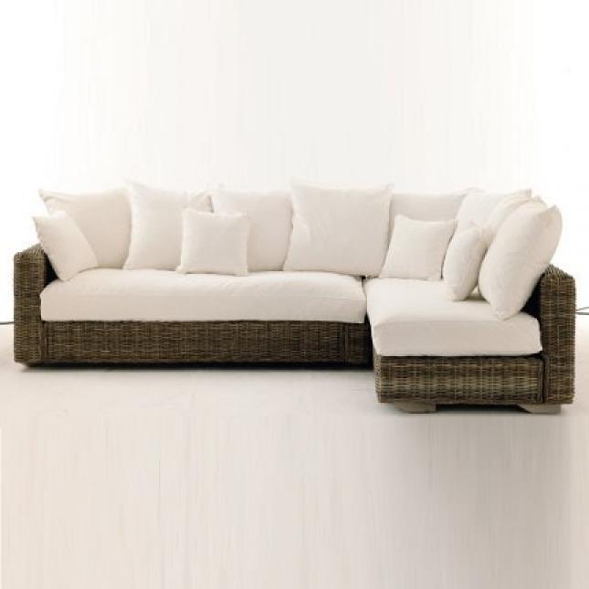 photos canap en rotin blanc. Black Bedroom Furniture Sets. Home Design Ideas