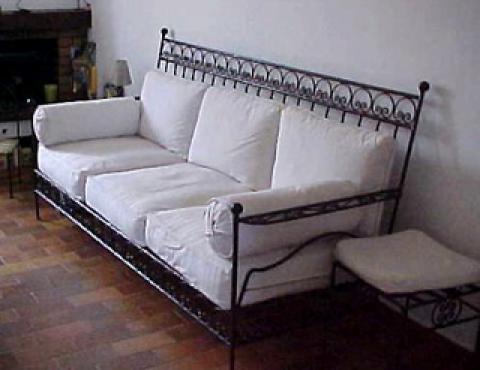 canapé en fer forgé pas cher – votre inspiration à la maison