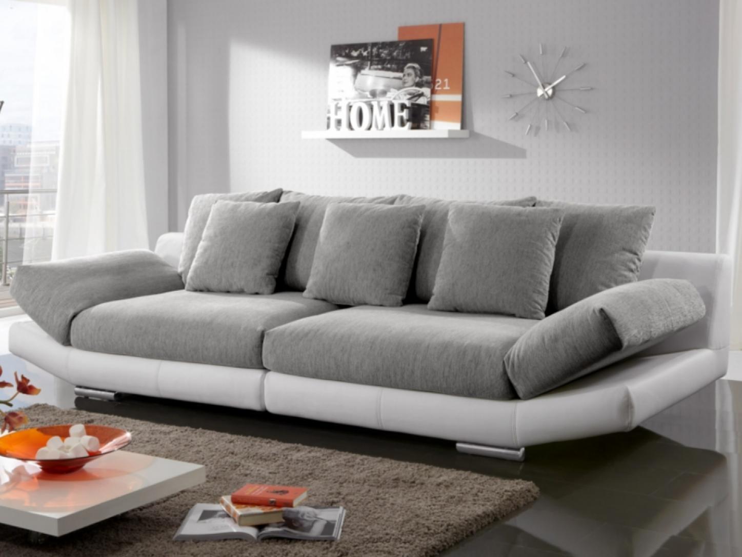 photos canap en tissu blanc. Black Bedroom Furniture Sets. Home Design Ideas