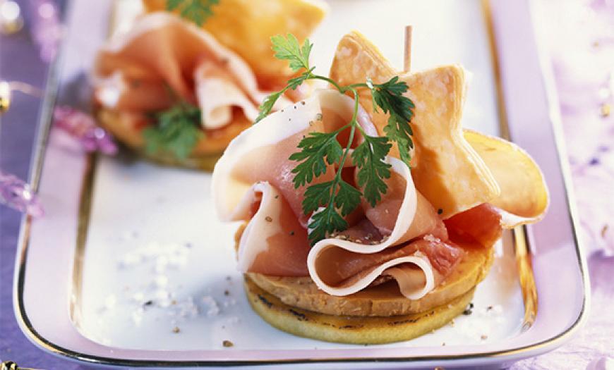 Photos canap foie gras recette for Entree de noel froide