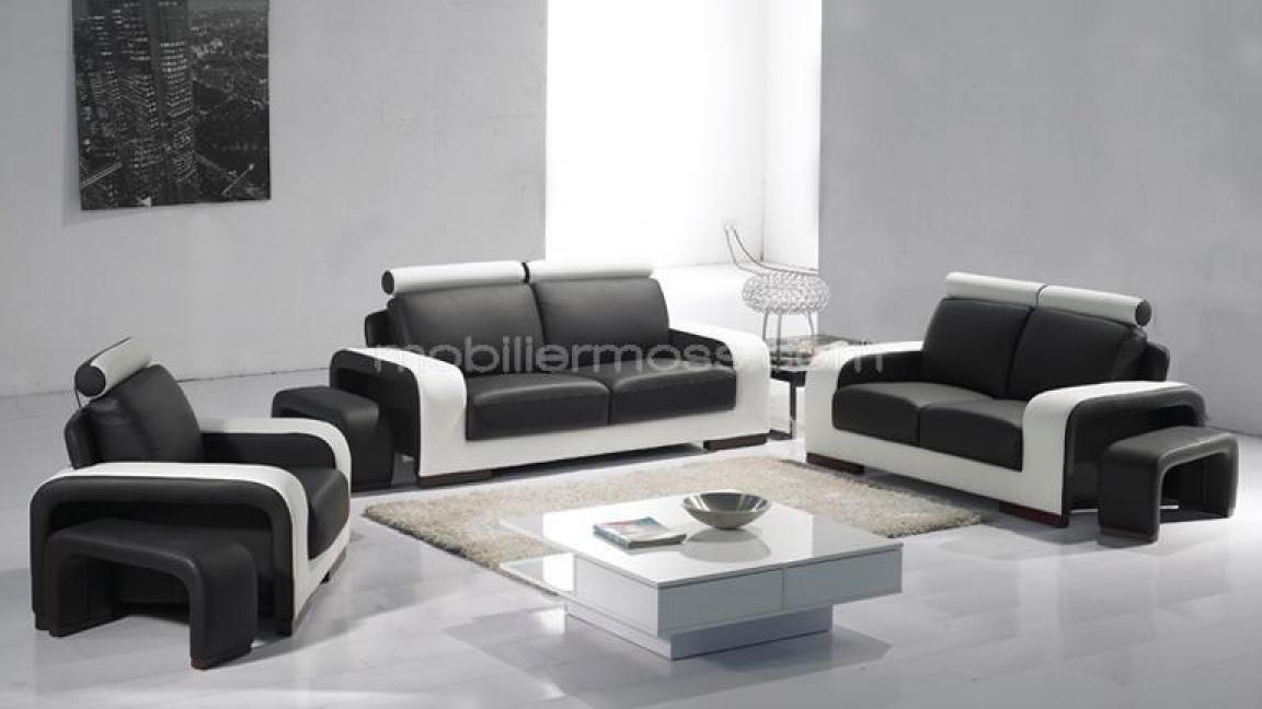 Photos canap fauteuil cuir for Canape et 2 fauteuils