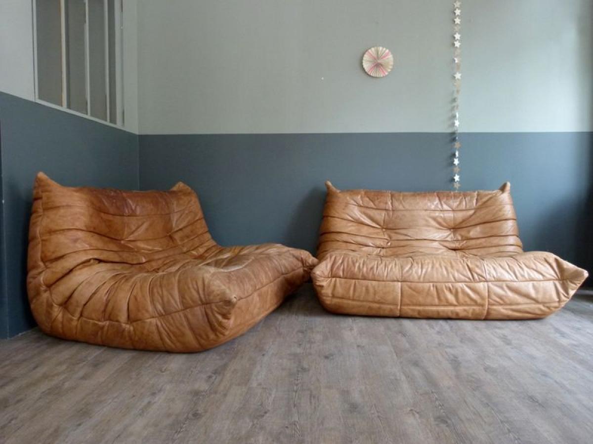 Photos canap grande profondeur d 39 assise - Canape imitation togo ...