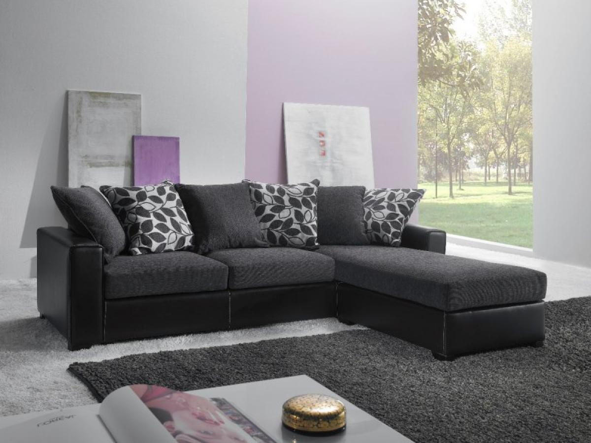 Photos canap gris fonc d co for Les meubles