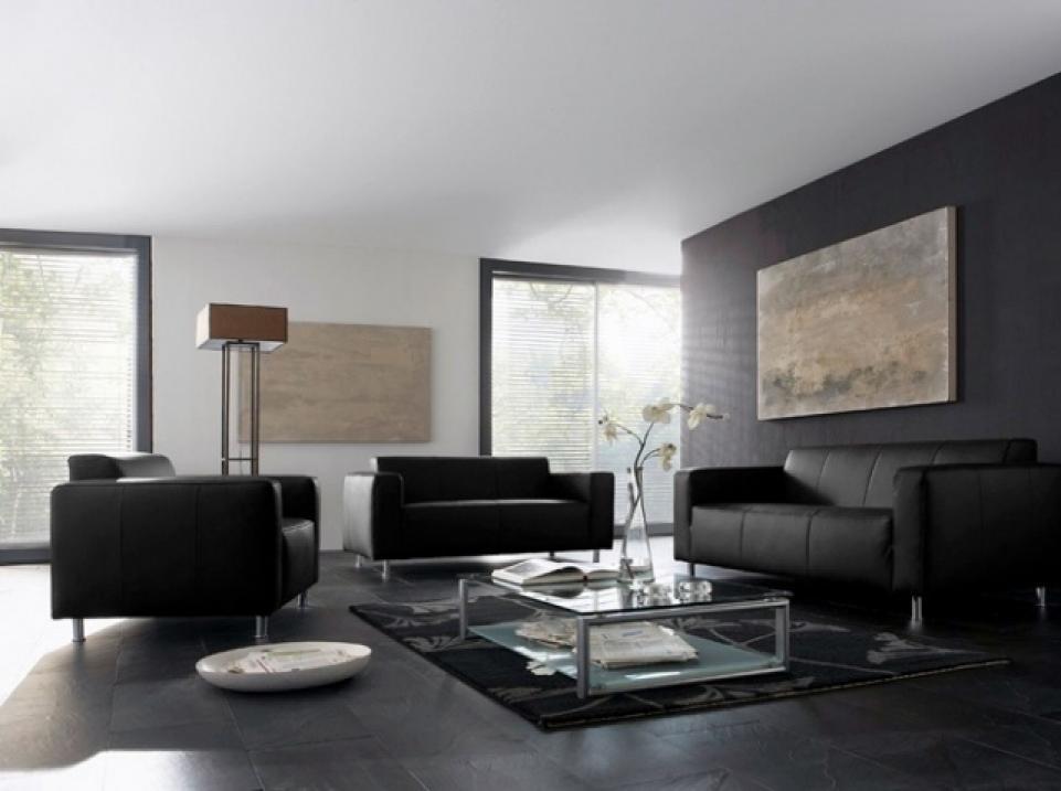 Canap gris fonc d co id e inspirante pour - Deco canape gris ...