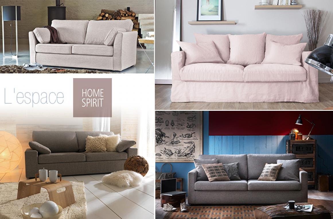 photos canap home spirit mal. Black Bedroom Furniture Sets. Home Design Ideas